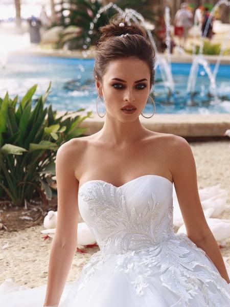 Rochie Mireasa clasica cu corset Bliss